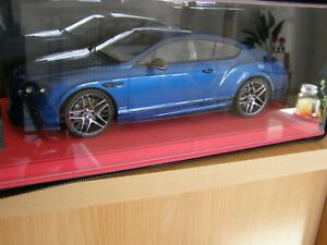 BENTLEY CONTINENTAL GT 1/18 FRONTIART no BBR Mr Collection Kyosho ottomobile