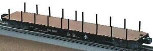 NEW LIONEL #17578 BOSTON & MAINE B&M PS-4 FLATCAR W/STAKES #34007 STD O - MIB