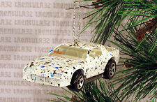 1980's CHEVY CAMARO Z28 '80's WHITE BLUE BLACK CHRISTMAS ORNAMENT XMAS
