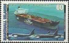 Timbre Bateaux Faune marine Marshall 1215 ** lot 17983
