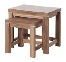 HAKU Beistelltisch 2-satz Tisch In Nußbaum