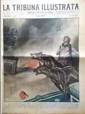La Tribuna Illustrata 13 Luglio 1930 Carnera Godfrey Tom Mix Scontro Treni Sasso