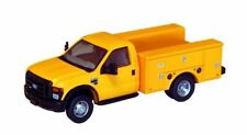 HO RIVER POINT STATION Yellow Ford F-450 Dually DRW SERVICE TRUCK ( No Bucket )