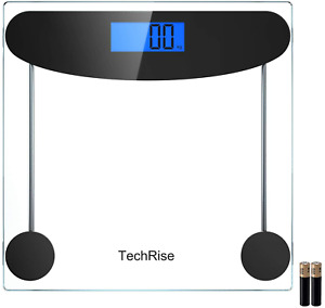 Body Weight Scale, TechRise High Precision Digital Bathroom Scale, Electronic
