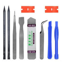 10 in1 Mobile Repair Opening Tools Pry Screwdriver Kit Set For iPhone Cell Phone