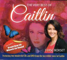 "CAITLIN New 2CD & Region 4 DVD set ""THE VERY BEST OF CAITLIN"" 39 tracks -3 discs"