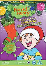 Horrid Henry's Christmas Stocking Filler (DVD,2011, 2-Disc Set) Brand new&Sealed