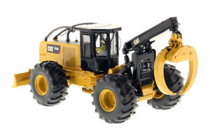 CAT 555D 1/50 Scale Caterpillar Wheel Skidder Model Diecast Vehicle Hot Toy Gift
