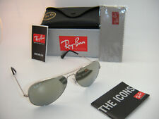 Authentic Ray-Ban Aviator Silver / Silver Mirror polarized RB 3025 003/59 58mm