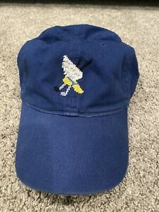 winged foot golf club smathers branson needlepoint hat