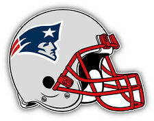 New England Patriots NFL Football Helmet Logo Car Bumper Sticker Decal 5'' x 4''