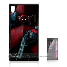 ( For Sony Z3 ) Back Case Cover P11292 Deadpool Ninja