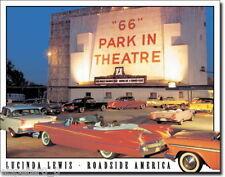 Blechschild 31 x 40, Lewis - Route 66 Drive In, USA Werbeschild Art. #1477