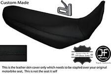 Puntada Negro Personalizado Se Ajusta Yamaha XT 660 R 04-17 Dual De Cuero Cubierta de asiento