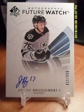 2013-14 SP Authentic #267 Tanner Pearson Los Angeles Kings Auto RC Hockey Card IJshockey