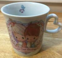 VTG Enesco Precious Moments Collection Love One Another Collectible Mug (1992)