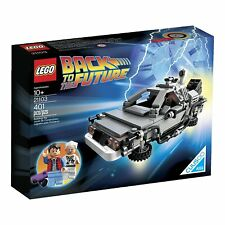 LEGO Ideas #21103 Back to the Future The DeLorean time machine Pack Set 401pcs