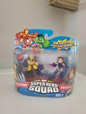 Marvel Super Hero Squad SEALED Wave 7: PSYLOCKE & WOLVERINE X-Men Apocalypse