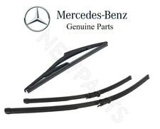 Mercedes Benz GL320 ML350 R350 Set Pair of Front and Rear Windshield Wiper Blade
