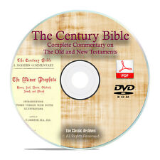Century Bible Commentary, Old & New Testament Christian Scripture PDF DVD H31