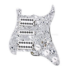 Loaded Prewired Pickguard HSH Single-coil Pickup for Strat ST Guitar