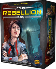 Coup Rebellion G54 Lone Oak Games Dystopian Universe NEW SEALED FREE SHIPPING