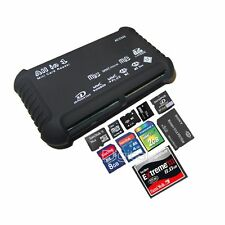 ALL IN 1 MULTI MEMORY CARD USB READER SD SDHC MINI MICRO M2 MMC XD CF