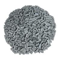 250 Lego Steine Hellgrau 1x3 - Hochsteine Bausteine Light Bluish Gray - 3622