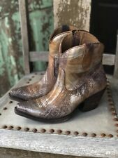 Ariat Women's Circuit Cruz Brushed Silver Ankle Boots 10029644
