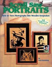 Scroll Saw Portraits:  How to Turn Photographs into Wooden Keepsakes