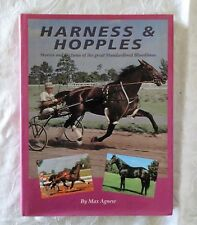 Harness & Hopples by Max Agnew   HC/DJ 1994 - Pacers & Trotters