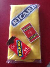 tapis de carte Ricard + Jeu De Cartes