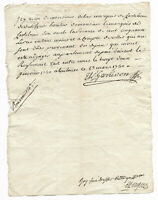 1740 Louis XV royal notary signed letter marquis inheritance document