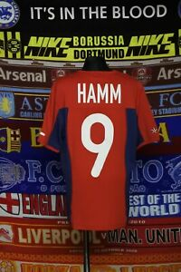 4.5/5 USA ladies women's XS 2004 #9 Hamm football shirt jersey trikot soccer