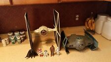 Star Wars 30th Anniversary TIE Fighter BIG Toys R Us AND Darth Vader Tie + Figs