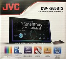 NEW JVC KW-R935BTS Double DIN Bluetooth In-Dash CD/AM/FM Car Stereo Receiver