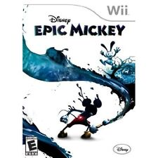 Disney Epic Mickey For Wii 2E