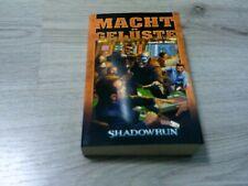 Shadowrun Roman 74 Machtgelüste Softcover FanPro Mängelexemplar