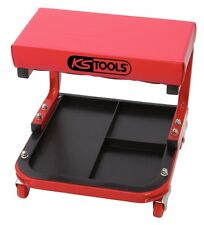 KS Tools Taburete de Taller con Ruedas, L440xB360xH360mm 500.8020