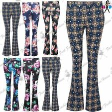 Polyester Hippie High Trousers for Women