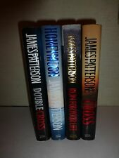 Lot of 4 James Patterson Murder Mystery Novels, HBDJ, All First Editions M7