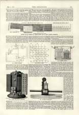 1889 Kensington Electric Light Supply Company Convertors Regulators