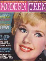 OCT 1962 MODERN TEEN vintage teen magazine CONNIE STEVENS