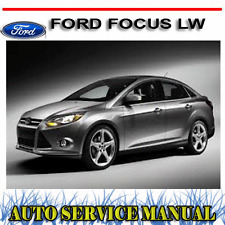 FORD FOCUS LW 2012-2014 WORKSHOP SERVICE REPAIR MANUAL ~ DVD