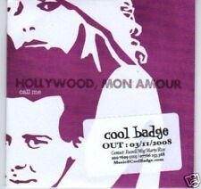 (J891) Hollywood, Mon Amour, Call Me - DJ CD