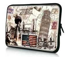"""17 inch 17.3"""" 17.4"""" Laptop Notebook PC Soft Neoprene Sleeve Bag Case Cover Pouch"""