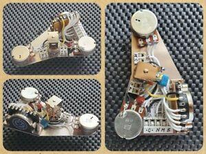 Fender Stratocaster Strat HSS wiring loom upgrade kit - Auto split for Humbucker