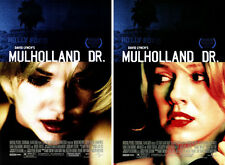 MULHOLLAND DRIVE (2001) SET OF 2 ORIGINAL MOVIE POSTERS  -  ROLLED