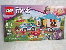 LEGO Friends New 41034 Summer Caravan Olivia Joanna Hedgehog Camper 297 pc.