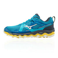Mizuno Mens Wave Mujin 7 Trail Running Shoes Trainers Sneakers Blue Sports